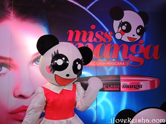 Loreal Miss Manga Instant Doll Lash Mascara Launch