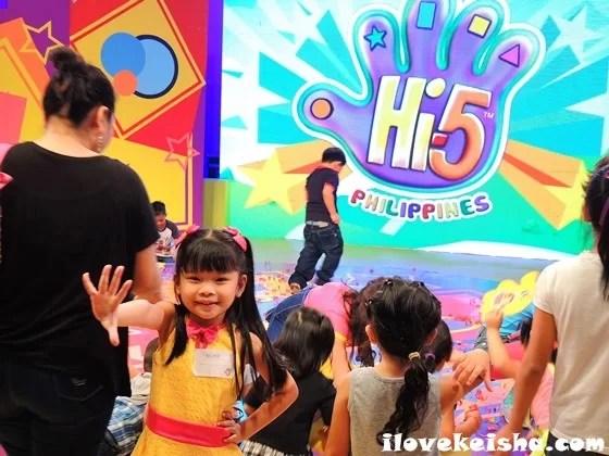 Keisha at Hi-5 Philippines studio