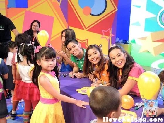 Keisha with Hi-5 Philippines