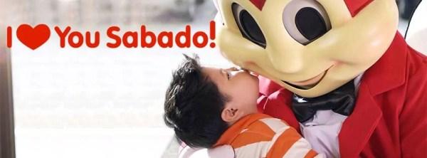 Jollibee I Love You Sabado