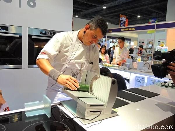 Chef Jean-Charles Dubois Bosch Series 8 Ovens