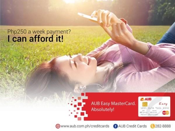 AUB Easy MasterCard_Banner Ad 2