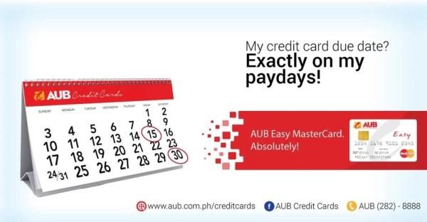 AUB Easy MasterCard_Banner Ad 4