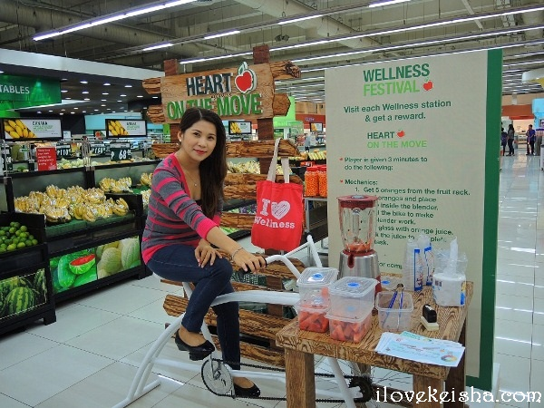 I Love Wellness Caravan At Robinsons Metro East