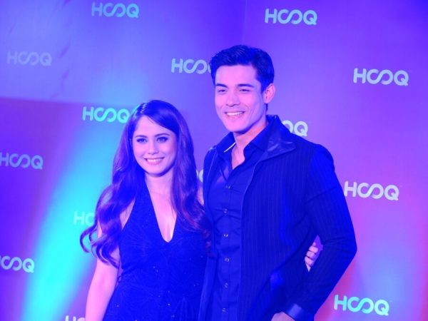 HOOQ Media Launch Jessy Mendiola and Xian Lim