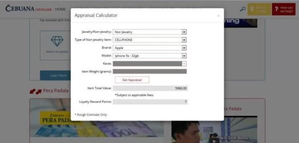Appraisal Calculator