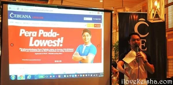 Cebuana Lhuiller Website Launch 1