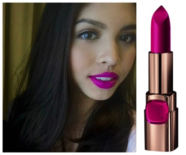 Maine Mendoza in Color Riche Glamor Fuchsia