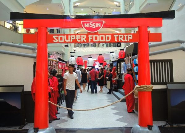 Nissin Souper Food Trip Event 1