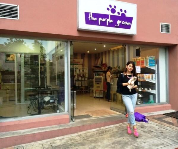 Pet Angel x Purple Groom Shoot Shop