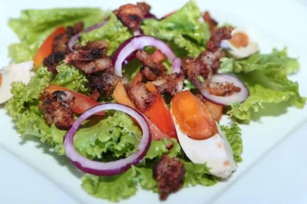 Ensaladang Tapang Bangus by Chef Chris Bautista