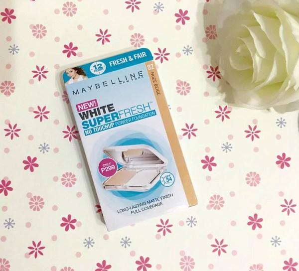 Maybelline White Super Fresh Powder Foundation 2