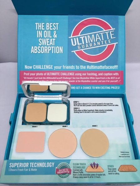 Maybelline White Super Fresh Powder Foundation 5