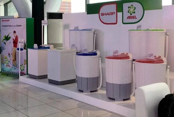 New Ariel Power Gel Launch Sharp Washing Machine