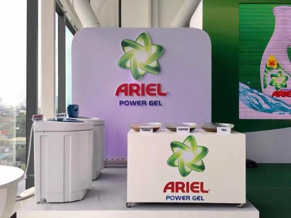 New Ariel Power Gel Launch Test