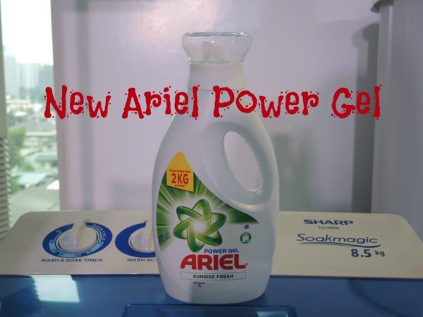 New Ariel Power Gel Sunrise Fresh