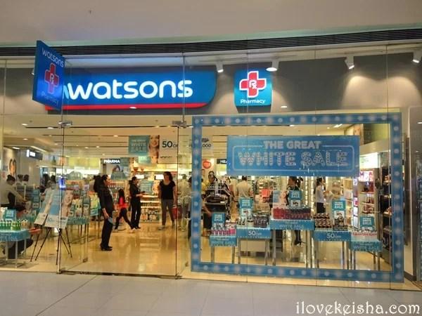 Watsons Great White Sale 2