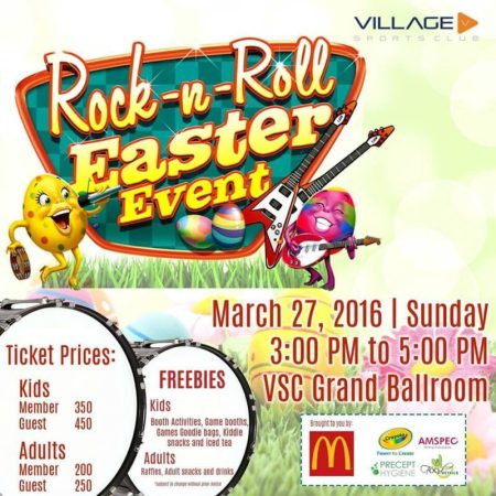 2016 List of Easter Egg Hunting Events in Metro Manila