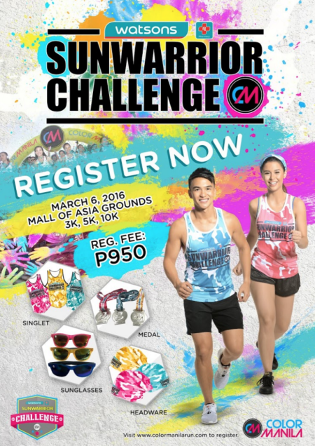 Color Manila Run x Sunwarrior Challenge