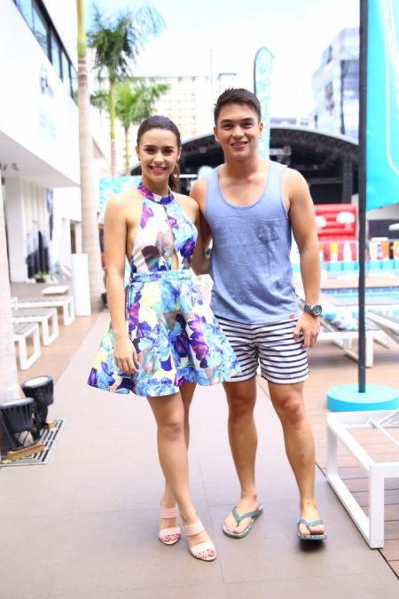 WATSONS Sun Warrior Ambassadors Yassi Pressman and Dominique Roque