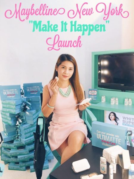 Maybelline New York Make It Happen Launch