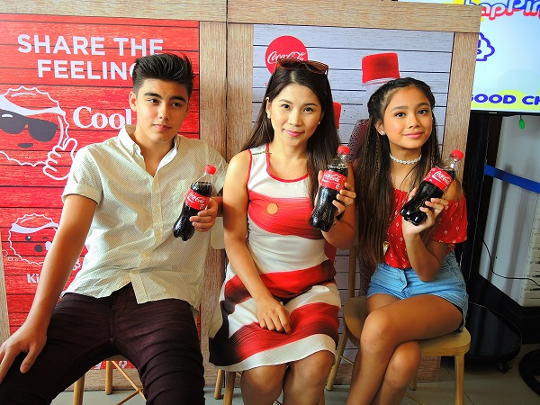 Ministop X Coca-Cola Partnership Bailey Ylona Kaye