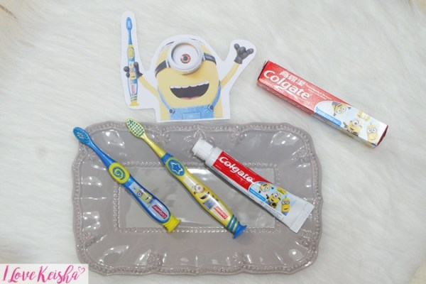 Colgate Minions Tooth brush and Toothpaste