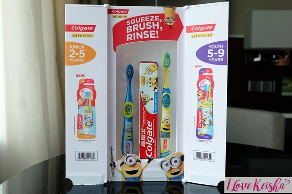Colgate Minions Toothbrush and Toothpaste