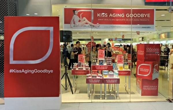 Watsons Kiss Aging Goodbye Event 1