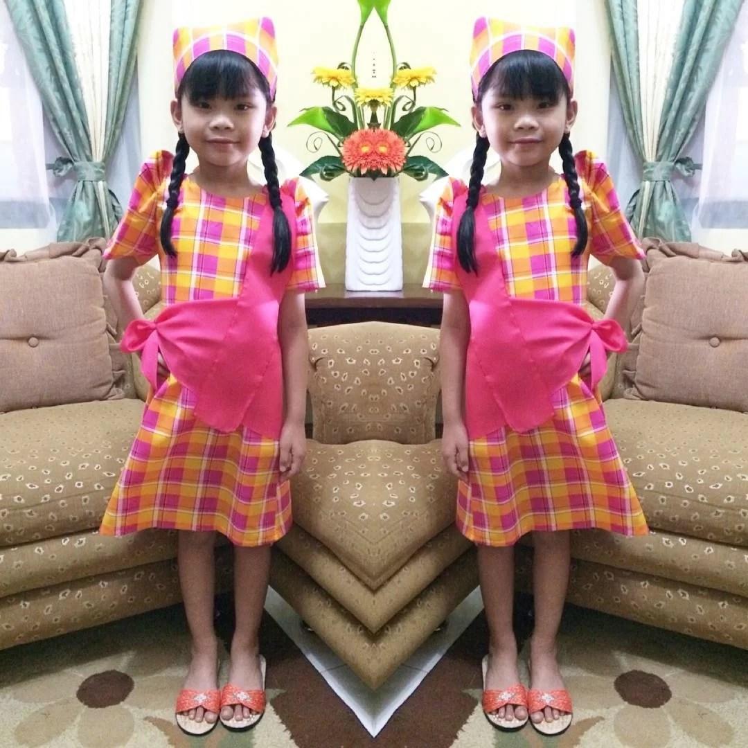 Keisha's Linggo/Buwan ng Wika Costumes