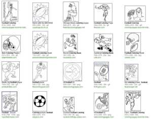"Search Results on ""Football Coloring Book"""