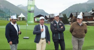 inaugurazione a livigno golf training area3
