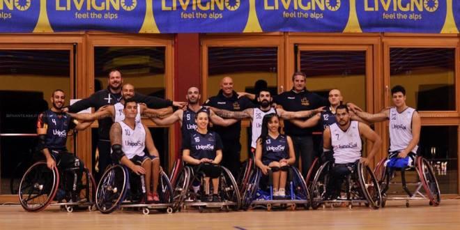 Basket in carrozzina, i campioni d'Italia ancora a Livigno