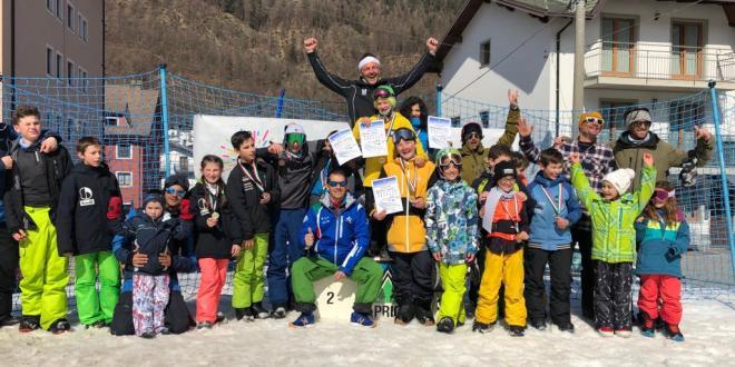 Risultati dei campionati regionali di snowboard slopestyle
