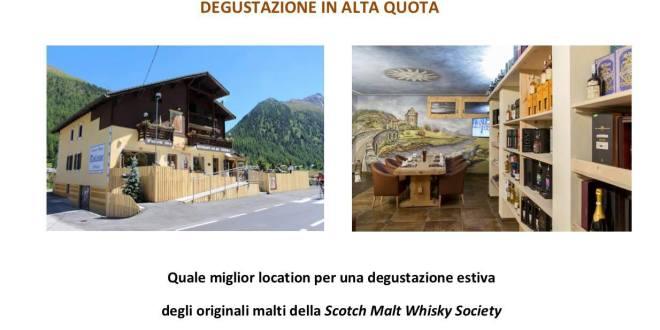 Livigno Whisky-Dinner, Degustazione in alta quota