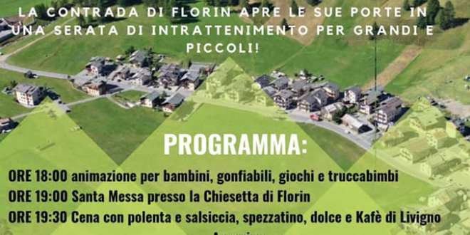 Florin Fest sabato 14 settembre