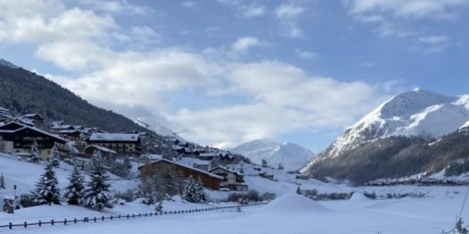Apertura degli impianti anticipata a Livigno: 60 cm di neve in paese