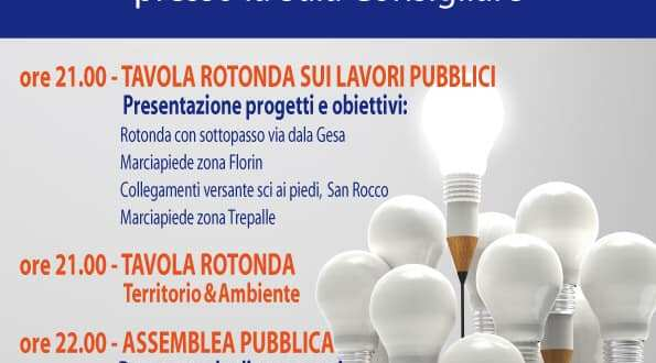 Giovedì 5 dicembre incontro pubblico a Livigno