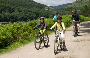 Cycling at Derwent