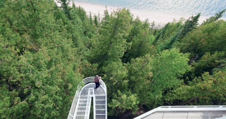 The Douglas House by Richard Meier on Lake Michigan