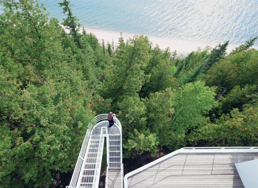 The Douglas House by Richard Meier