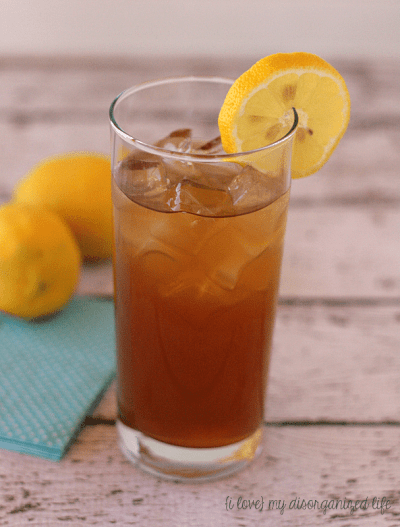 Dirty Arnold Palmer - A delightful twist on the famous golfer's classic {i love} my disorganized life