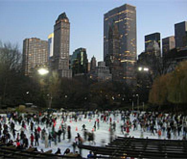 Ak Skridskor I Central Park