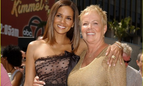 Halle Berry with her mother, Judith