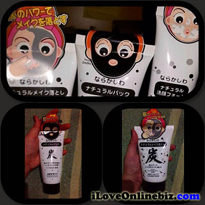 Daiso Charcoal Mask, Cream and Foam Review