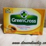 Green Cross Papaya & Honey Soap Review