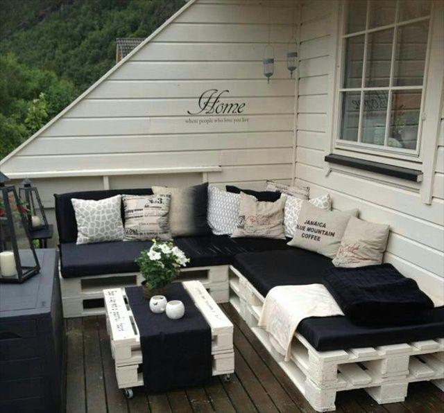10 terrazas con encanto con muebles de palets – I Love Palets
