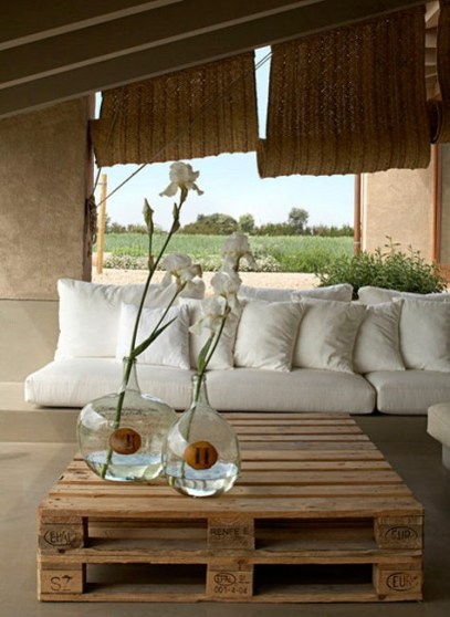10 terrazas con encanto con muebles de palets i love palets for Muebles con encanto online