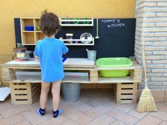 juguetes para niños con palets