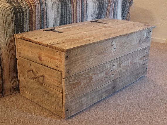 10 ideas de baúles de palets para almacenar tus cositas | I Love ...